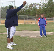 Shot Put - Underhand Toss