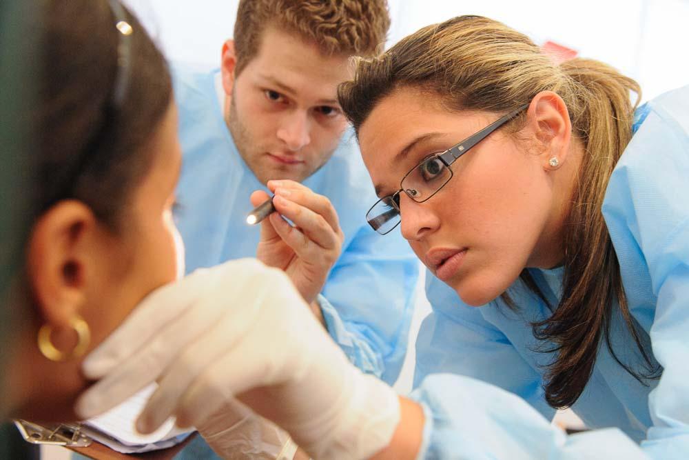 Oral screening in Panama