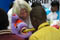"SO South Africa athlete being given a dental hygiene demonstration as part of a <a href=""http://www.specialolympics.org/healthy_athletes.aspx"" title=""Healthy Athletes"">Healthy Athletes</a>, Health promotion activity for EKS Day.<br /><span></span>"