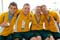 All smiles for the Australian swimmers.<br /><span>Photo Credit: Special Olympics Australia</span>
