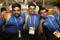 Smiles of welcome from the Bharat athletes.<br /><span>Photo Credit: Special Olympics International</span>