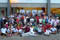 A group picture after a day of activity.<br /><span>Photo Credit: Special Olympics Asia Pacific / Karyn Tan</span>
