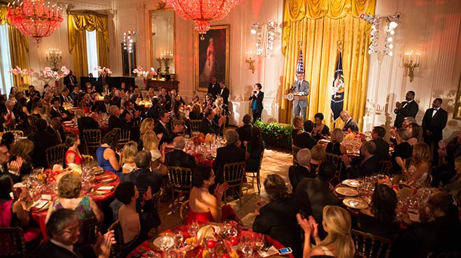 White House Dinner for Special Olympics