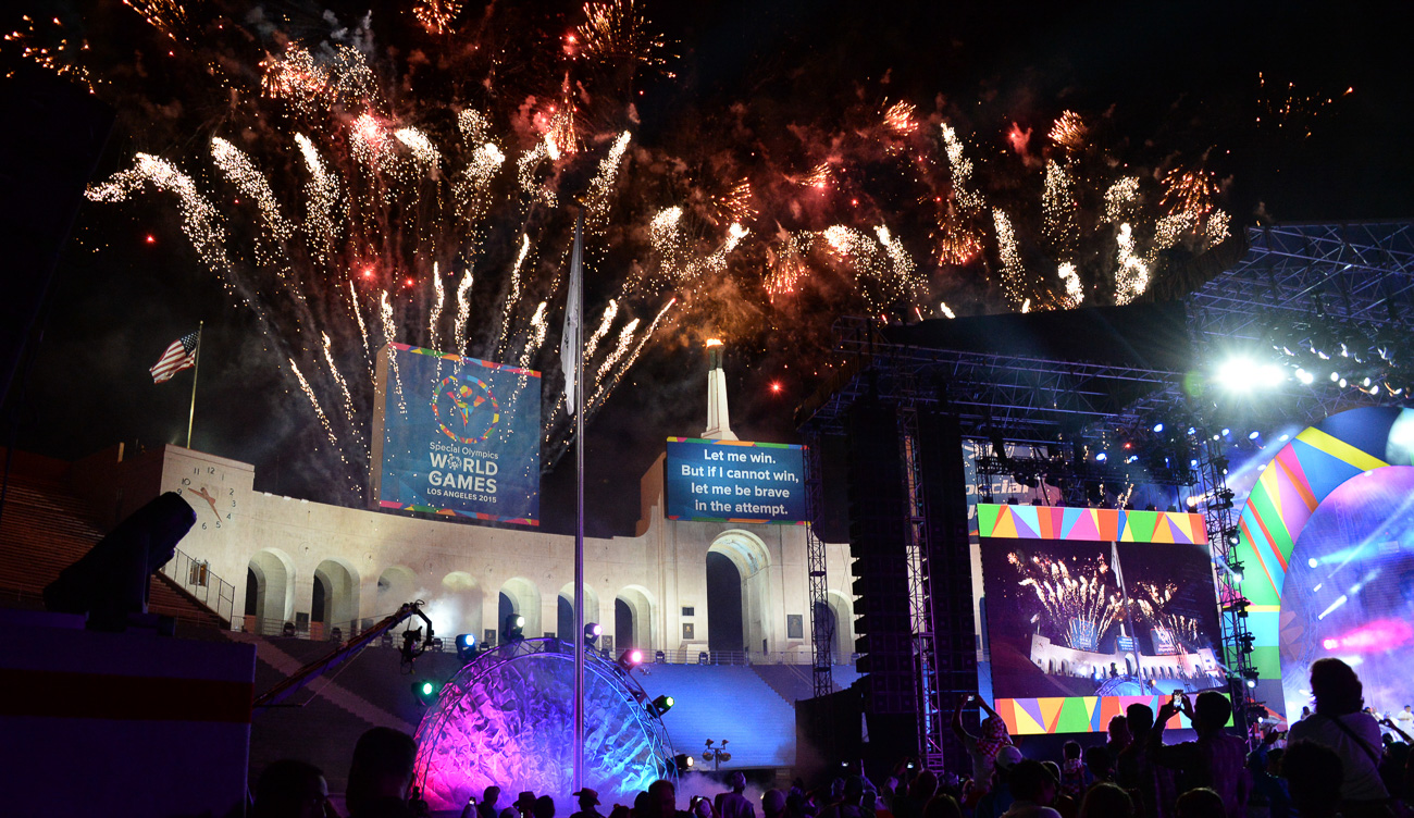 World Games Fireworks