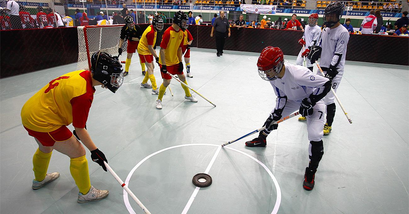 Special Olympics: Floor Hockey